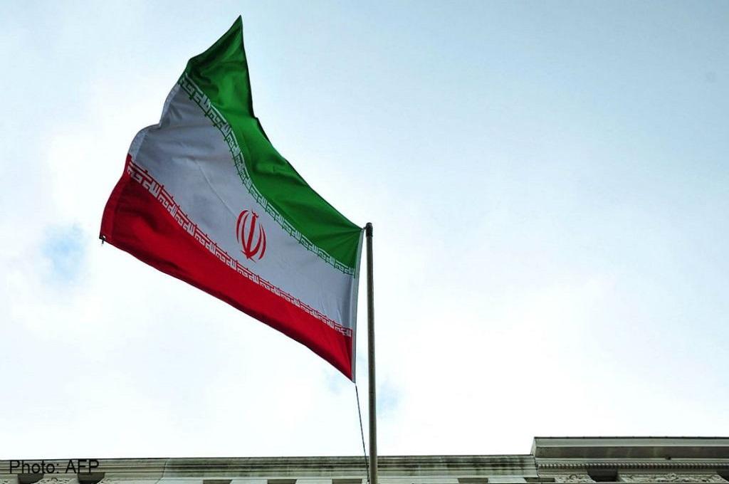 Bendera Iran. (Foto: AFP)