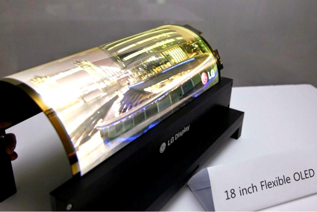 Lenovo berencana meluncurkan tablet berdesain lipat menggunakan panel fleksibel karya LG Display.