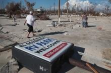 Lebih dari 1.300 Orang Hilang akibat Badai Michael