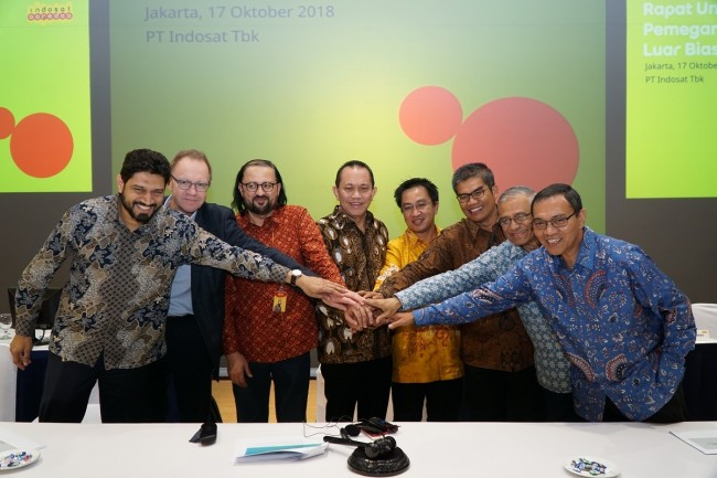 Indosat Ooreedoo has announced its new management.