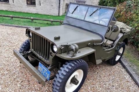 Jeep Willys Langka Steve McQueen jadi Rebutan Kolektor