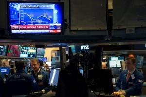 Pasar Saham Amerika Serikat Rontok