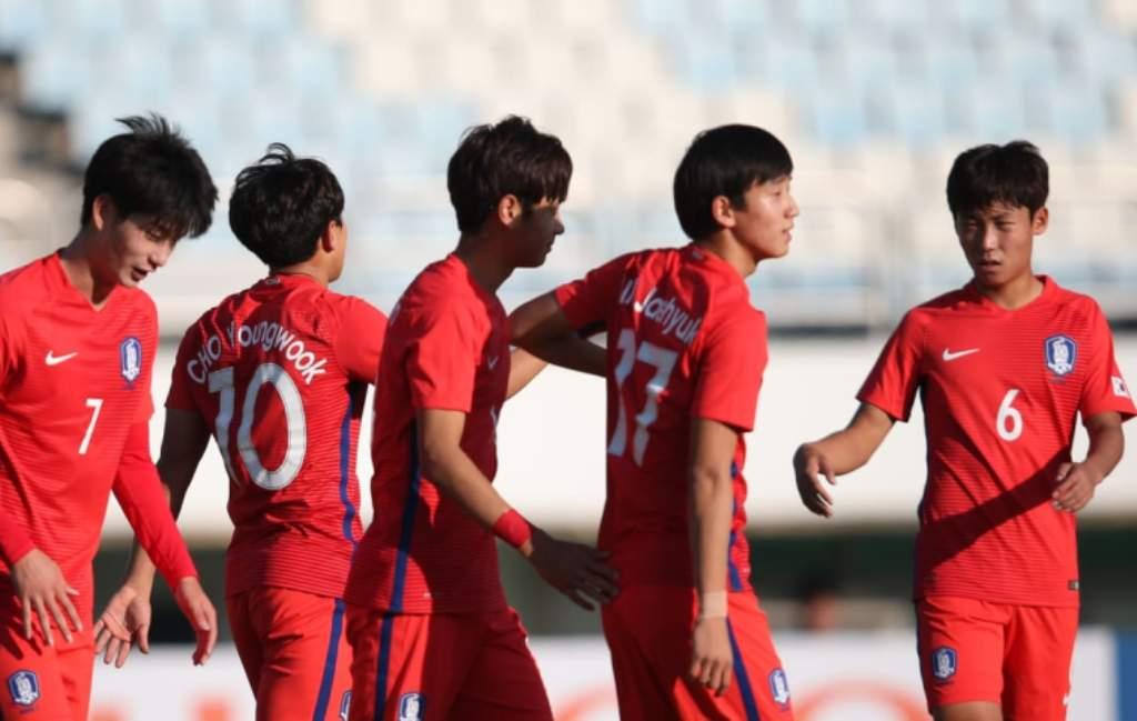 Para pemain timnas Korea Selatan U-19 (Foto: AFC)