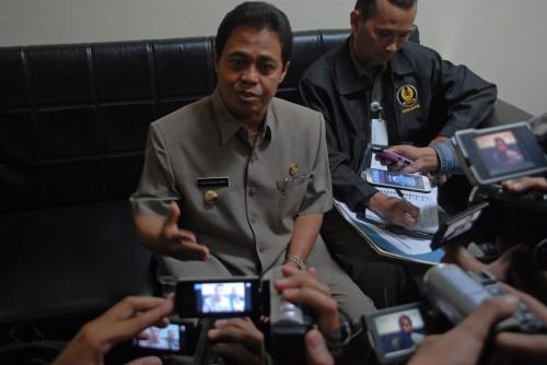 Mantan Wali Kota Depok Nur Mahmudi Ismail. Foto: MI/Bary Fathahilah.