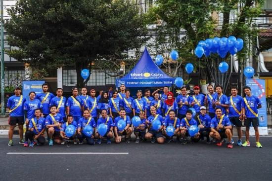 Olahraga Sambil Berwisata di Tiket.com Kudus Relay Marathon 2018