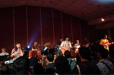 Konser Lamp di Jakarta, Rabu, 17 Oktober 2018 (Foto: