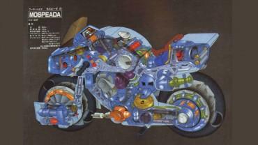 Sepeda Motor Ini Bisa Berubah Menjadi Baju Tempur