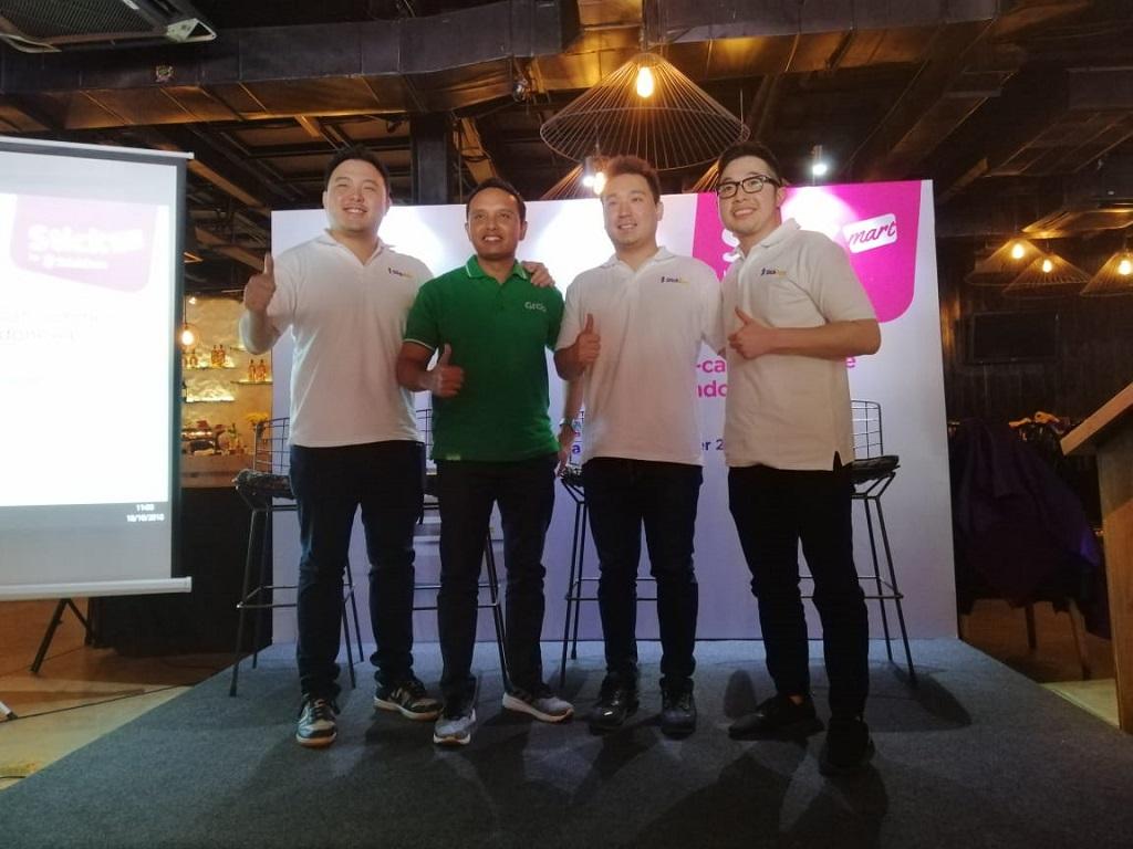 Peluncuran StickMart di Jakarta, Kamis 18 Oktober 2018.