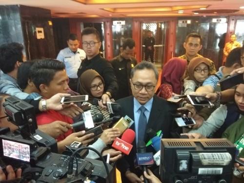 Ketua Umum Partai Amanat Nasional (PAN) Zulkifli Hasan - Medcom.id/Whisnu Mardiansyah.