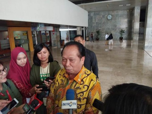 Ketua BURT DPR RI Anton Sihombing--Medcom.id/Whisnu Mardiansyah.