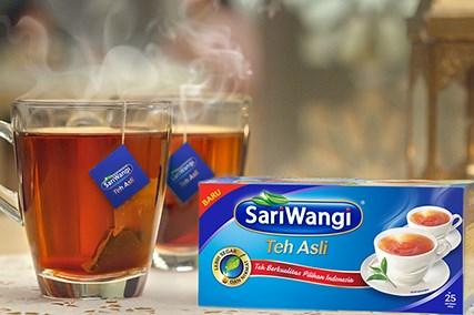 Unilever Tetap Produksi Teh Sariwangi