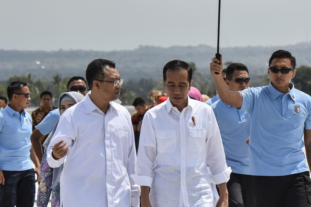 Presiden Kunjungi Lombok Pantau Pencairan Dana Rehabilitasi