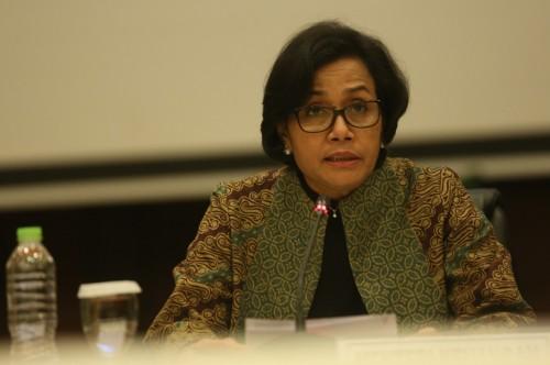 Menteri Keuangan Sri Mulyani. (FOTO: MI/Ramdani)