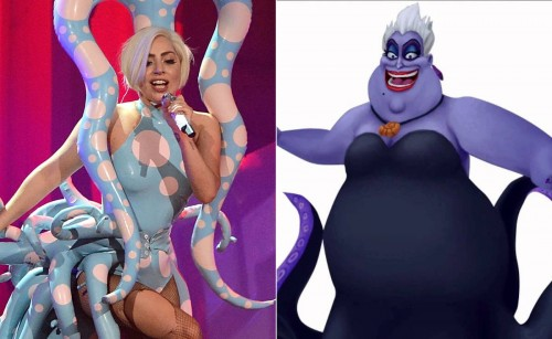 Lady Gaga-Ursula (Foto: via mashable)