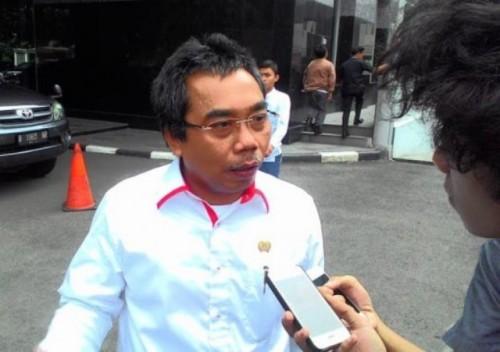 Ketua Fraksi PDIP DPRD DKI Jakarta Gembong Warsono--Metrotvnews.com/Damar Iradat