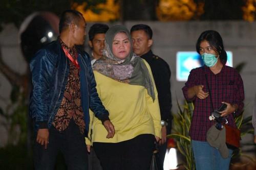 Bupati Bekasi Neneng Hasanah Yasin - ANT/Sigid Kurniawan.