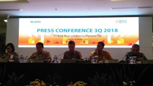 Konferensi Pers BNI. Medcom/Desi A.