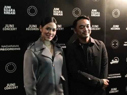 Raisa dan Dipha Barus (Foto: dok. Putra Batusangkar)