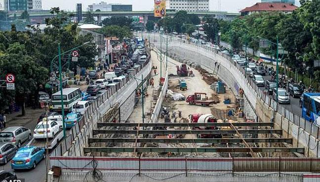 Infrastruktur. Dok : AFP.