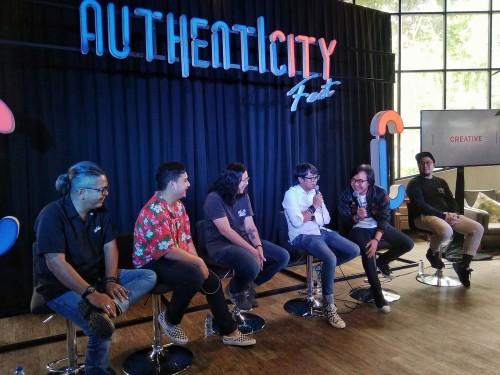 Konferensi pers Aunthenticity Fest 2018 Fase Kedua di Ecology