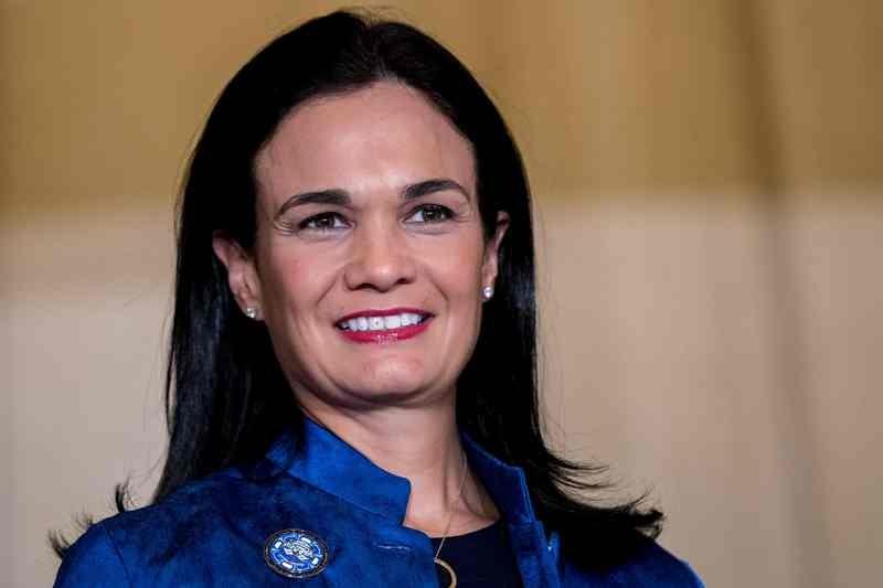 Wakil Presiden Panama, yang sekaligus menjabat sebagai menteri luar negeri, Isabel Saint Malo. (Foto: AFP).