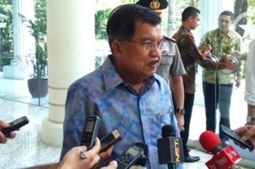 Wakil Presiden Jusuf Kalla. Foto: Medcom.id/Dheri.