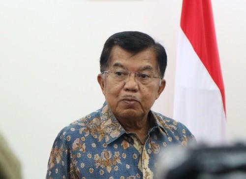 Wakil Presiden Jusuf Kalla. Foto:Medcom.id/Dheri.