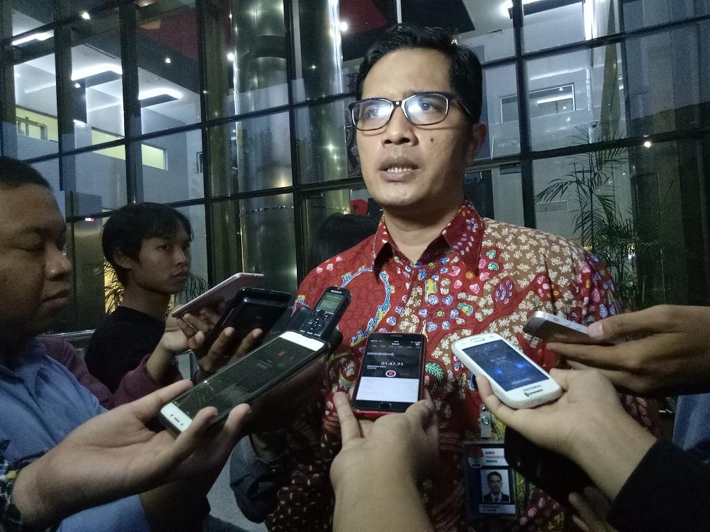 Juru bicara KPK Febri Diansyah - Medcom.id/Siti Yona Hukmana.