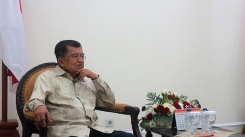 Wakil Presiden Jusuf Kalla. Foto: Medcom/Dheri.
