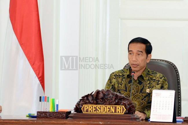 Presiden Joko Widodo. Foto: MI/Panca Syurkani.