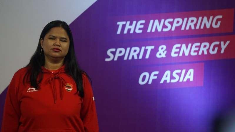 Atlet para catur Tati Karhati sukses menyumbang tiga medali emas untuk Indonesia di Asian Para Games 2018. (Foto: medcom.id/Kautsar Halim)