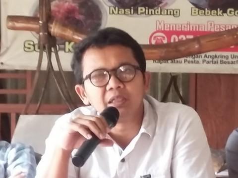 Sosiolog Universitas Gajah Mada Arie Sujito. Medcom.id/ Ahmad Mustaqim.