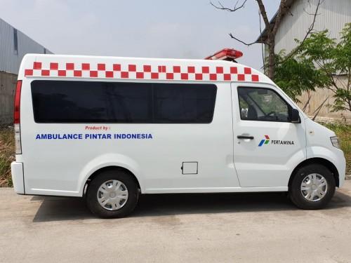 DFSK Super Cab ternyata bisa juga dijadikan ambulans. DFSK