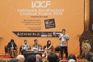 Dukung Kemajuan Arsitektur Indonesia Propan Raya Gelar IACF