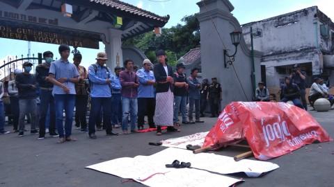 Buruh di Yogyakarta Minta UMP Naik Rp2 Juta