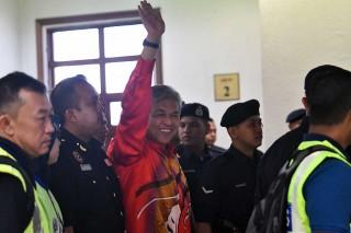 Mantan Wakil PM Malaysia Tiba di Pengadilan