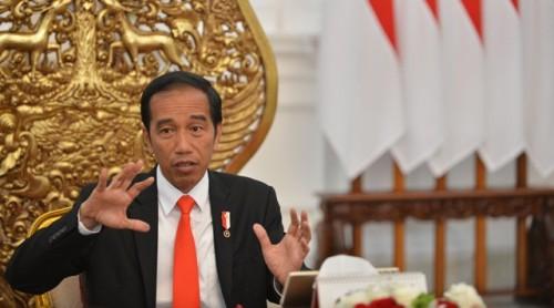 Presiden Joko Widodo/ANT/Wahyu Putro
