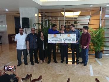 CJ Indonesia Salurkan Bantuan untuk Palu melalui Media Group
