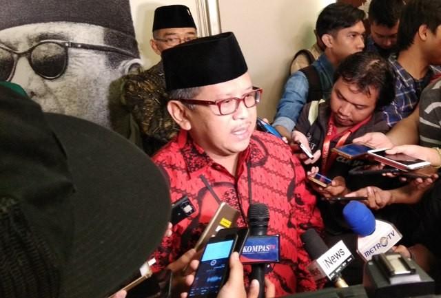 Sekjen DPP PDIP Hasto Kristianto. Foto: Medcom.id/Fachri Audhia Hafiez.