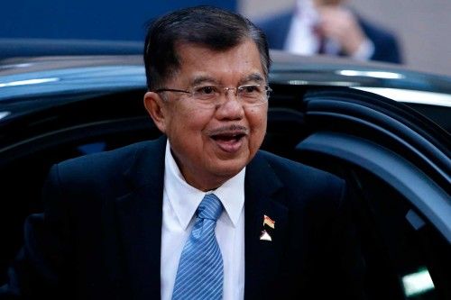 Jusuf Kalla Hadiri Pembukaan KTT ASEM ke-12