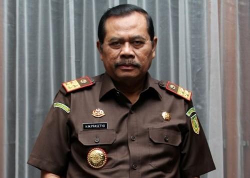 Jaksa Agung H Muhammad Prasetyo--MI/Immanuel