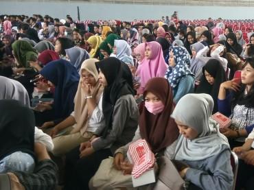 1.680 Korban Gempa Palu Menumpang Kuliah di Unhas
