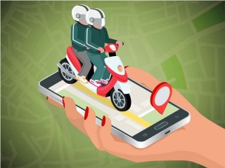 Ojek Online Dilarang Mangkal di Jalan Protokol Bekasi