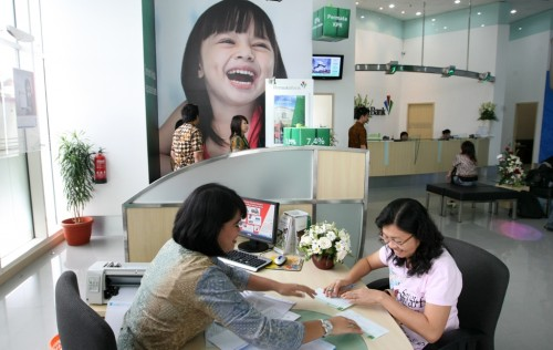 Ilustrasi aktivitas perbankan. (FOTO: Media Indonesia)