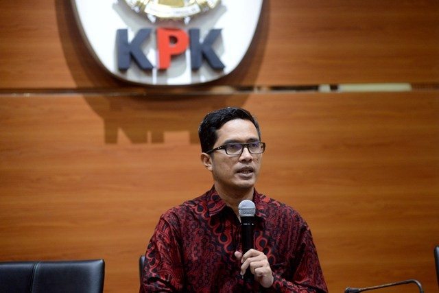 Juru Bicara KPK Febri Diansyah. Foto: MI/Susanto