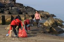 ASN Bergotong Royong Bersihkan Pantai Manado