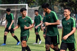 Timnas U-19 Gelar Latihan Jelang Lawan Qatar