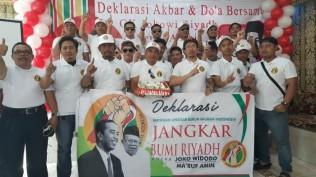 Jangkar Bumi Riyadh Mendukung Jokowi-Ma`ruf