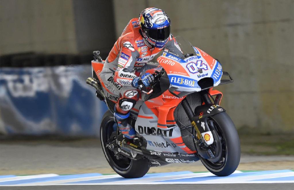 Andrea Dovizioso (Twitter/Ducati UK Racing)