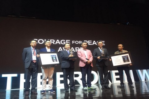 FPCI Beri Penghargaan Perdamaian untuk Korut